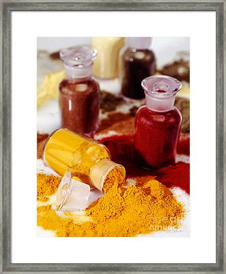 Curry Powder Framed Print by Iris Richardson