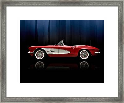 Curtain Call Framed Print by Douglas Pittman