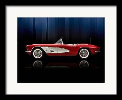 Red Chevrolet Framed Prints