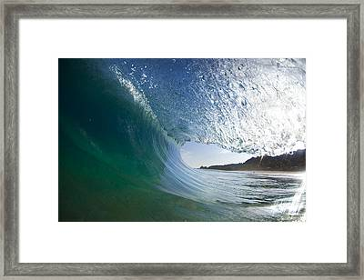 Curtain Coming Down Framed Print by Sean Davey