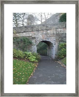 Curtain Wall Gateway Framed Print
