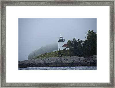 Curtis Island Lighthouse Framed Print