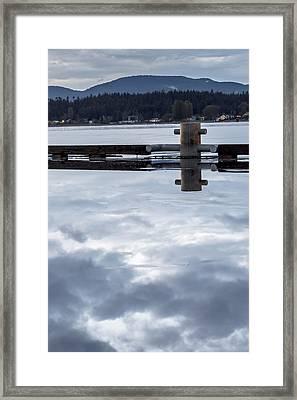 Curtis Wharf Framed Print