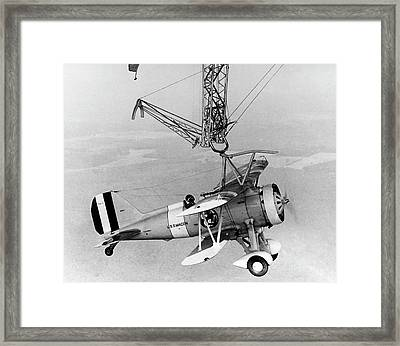 Curtiss F9c-2 'sparrowhawk' Fighter Plane Framed Print by Us Navy/science Photo Library