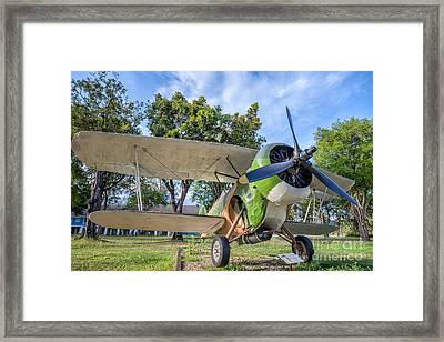Curtiss Hawk IIl Framed Print by Adrian Evans