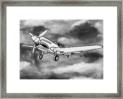 Curtiss P-40 Warhawk 2 Framed Print