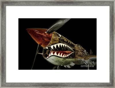 Curtiss P40 Warhawk  ... Framed Print