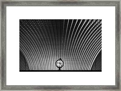 Curvature Of Spacetime Framed Print