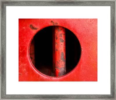 Curvature Framed Print by Tom Druin