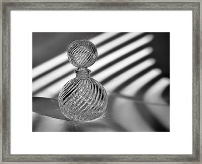 Curvatures 2...black And White Framed Print by Tom Druin