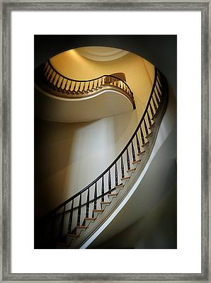 Curvatures Framed Print