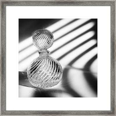 Curvatures Framed Print by Tom Druin