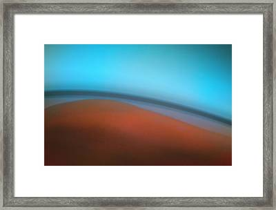 Slope Framed Print by Kellice Swaggerty