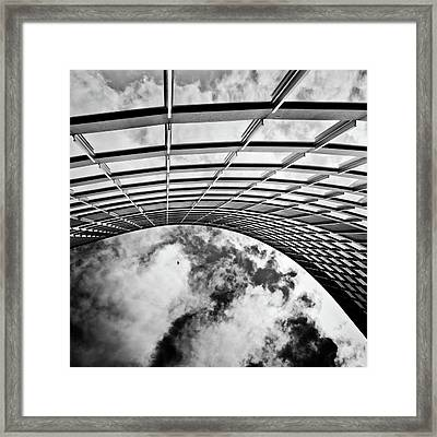 Curve Framed Print by Brian Carson