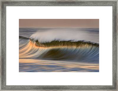 Framed Print featuring the photograph Curved Crest C6j9295 by David Orias
