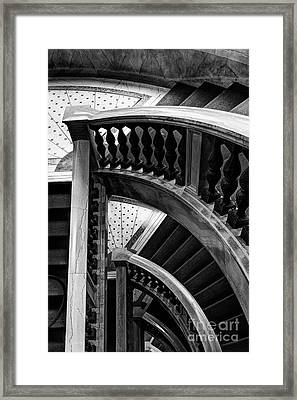 Curved Stories Framed Print by Margie Hurwich