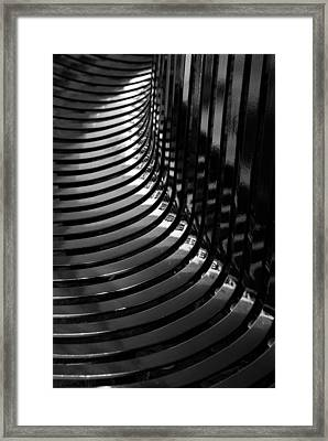 Curved Framed Print by Wendy Wilton