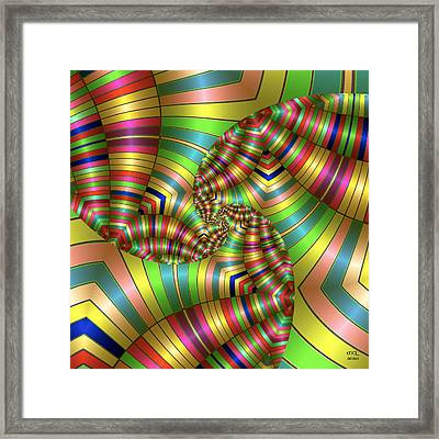 Curves Ahead Framed Print by Manny Lorenzo