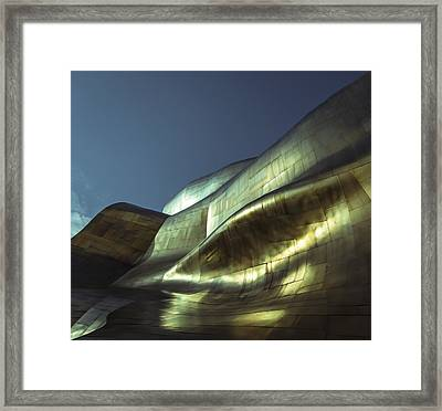 Curves Framed Print by Akos Kozari
