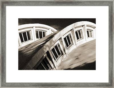 Framed Print featuring the photograph Curves by Arkady Kunysz