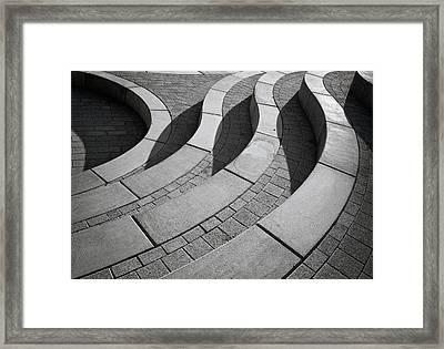 Curves Framed Print