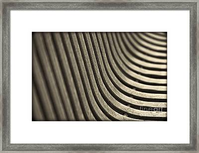 Curves I. Framed Print by Clare Bambers