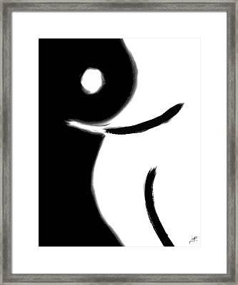 Feminine Curves - For Sale Framed Print by Jennifer L Kiehl