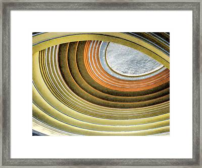 Curving Ceiling Framed Print