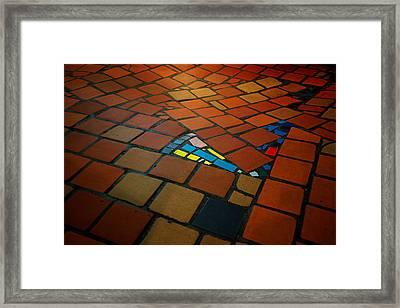 Curvy Floor Framed Print by Ivan Slosar