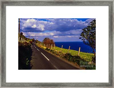 Cushendun Ballycastle Coast Road Framed Print by Thomas R Fletcher