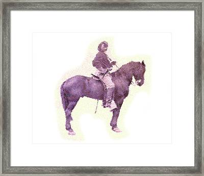 Custer - After Gettysburg Framed Print by Charlie Ross