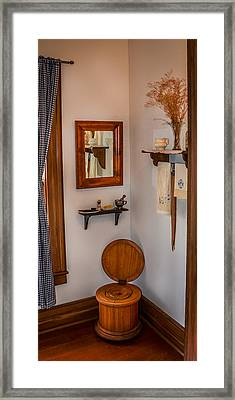 Custer's Crapper Framed Print by Paul Freidlund