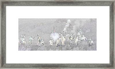 Custers Last Stand Framed Print
