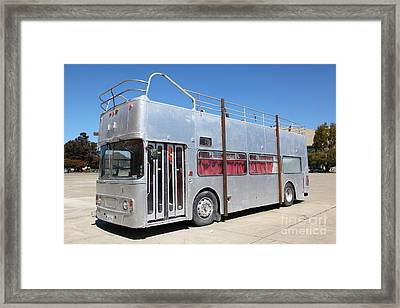 Custom Artistic Double Decker Bus 5d25356 Framed Print by Wingsdomain Art and Photography