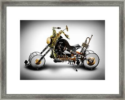 Custom Band Framed Print