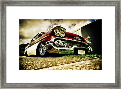 Custom Chevrolet Bel Air Framed Print by motography aka Phil Clark