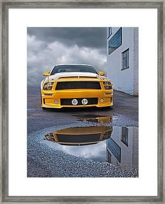 Custom Exotics - Mustang Gtr Framed Print by Gill Billington