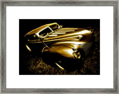 Custom Ford Roadster Framed Print
