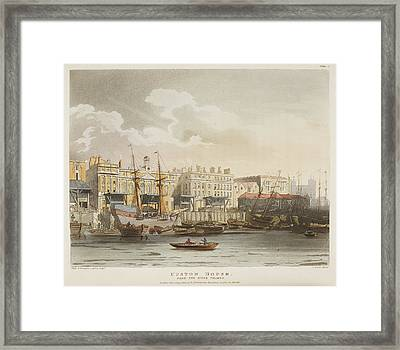 Custom House Framed Print by British Library