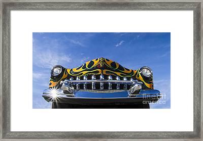 Custom Merc - Metal And Speed Framed Print