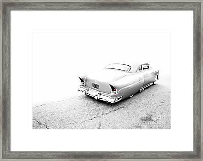 Custom Metal - 1953 Chevy - Chopit Kustoms - Metal And Speed Framed Print