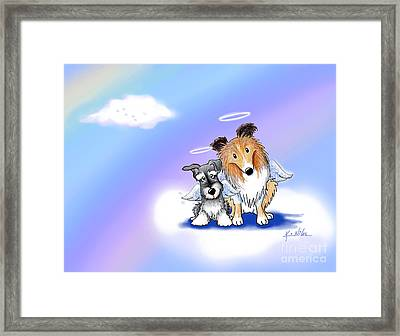 Custom Rainbow Bridge Framed Print by Kim Niles