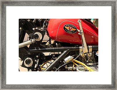 Custom Victory Motorcycle Dsc1323 Framed Print