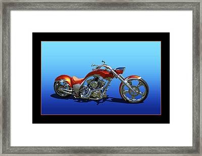 Framed Print featuring the photograph Customized Perfection by Keith Hawley