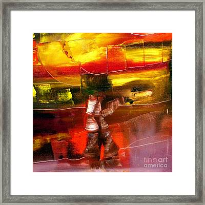 Cut - Have And Have Not Framed Print by James Lavott
