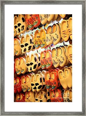 Cute Clogs Framed Print by Carol Groenen