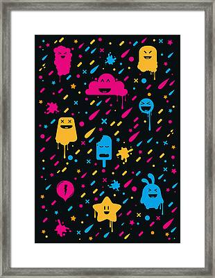 Cute Color Stuff Framed Print