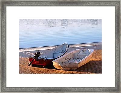 Framed Print featuring the photograph Cute Couple by Mike Ste Marie