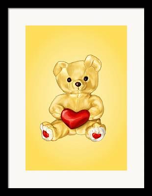 Teddy Bear Framed Prints