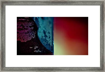 Cutting Angles  Framed Print